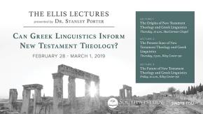 Ellis-Lecture